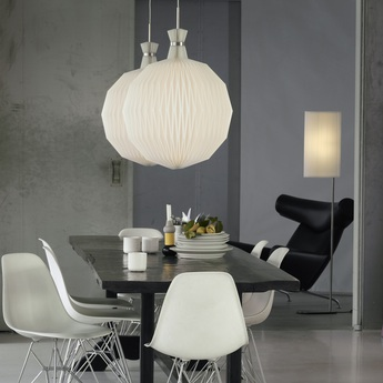 Suspension 101 xl blanc acier o55cm h70cm le klint normal