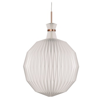 Suspension 101 xl blanc cuivre o55cm h70cm le klint normal