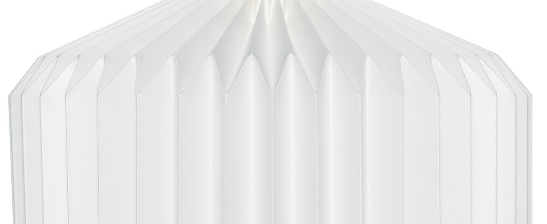Suspension 105 large paper blanc o30cm h40cm le klint normal