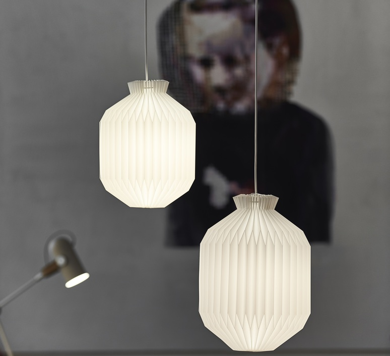 105 small paper mogens koch suspension pendant light  le klint 105spa  design signed nedgis 74541 product
