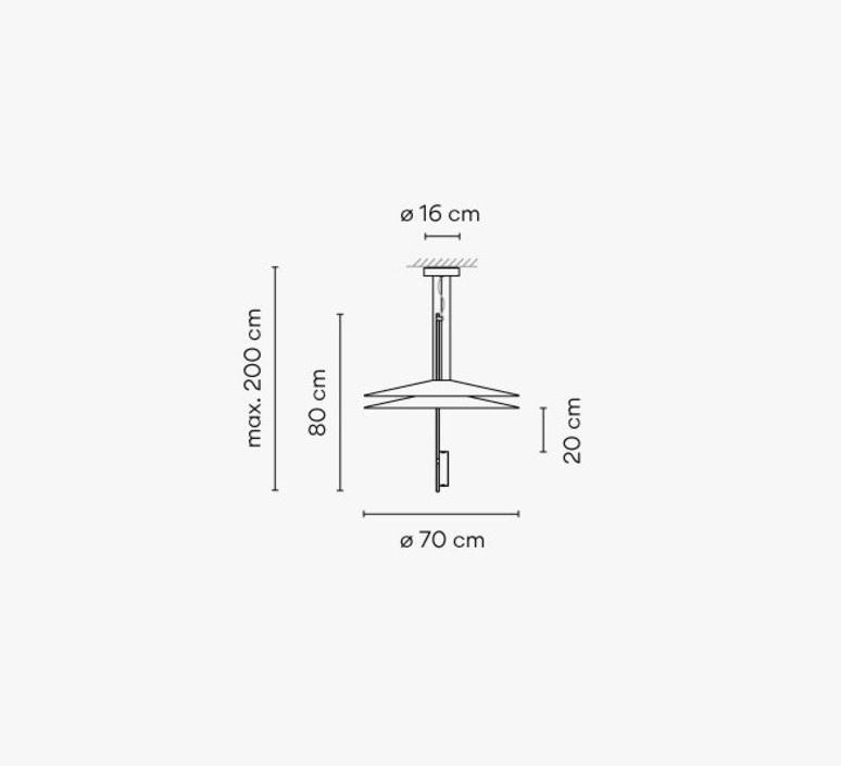1510 antoni arola suspension pendant light  vibia 1510 67 1b  design signed nedgis 87962 product