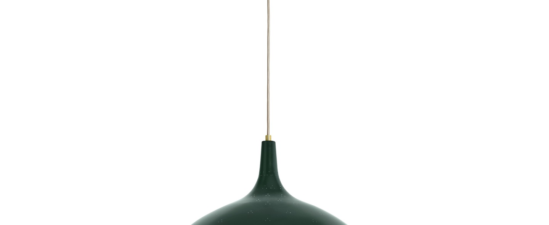Suspension 1965 vert laiton o46cm h26cm gubi normal