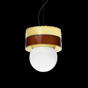Suspension 2 01 cognac led o18cm h21cm haos normal