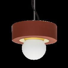 2 02 sophie gelinet et cedric gepner suspension pendant light  haos 2 02 brique  design signed 41788 thumb