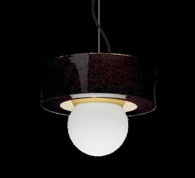 2 02 sophie gelinet et cedric gepner suspension pendant light  haos 2 02 noir  design signed 41782 product