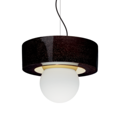 2 02 sophie gelinet et cedric gepner suspension pendant light  haos 2 02 noir  design signed 41782 thumb
