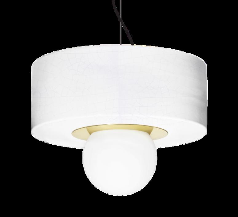 2 03 sophie gelinet et cedric gepner suspension pendant light  haos 2 03 blanc  design signed 41793 product