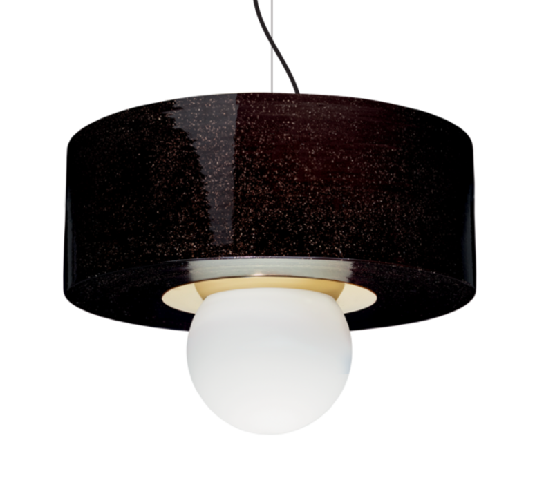 2 03 sophie gelinet et cedric gepner suspension pendant light  haos 2 03 noir  design signed 41795 product