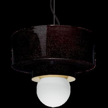 Suspension 2 04 noir led o34cm h34cm haos normal