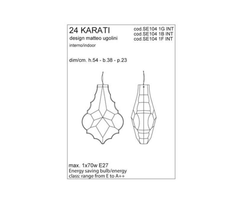24 karati matteo ugolini karman se104 1g int luminaire lighting design signed 24250 product