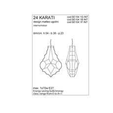 24 karati matteo ugolini karman se104 1g int luminaire lighting design signed 24250 thumb