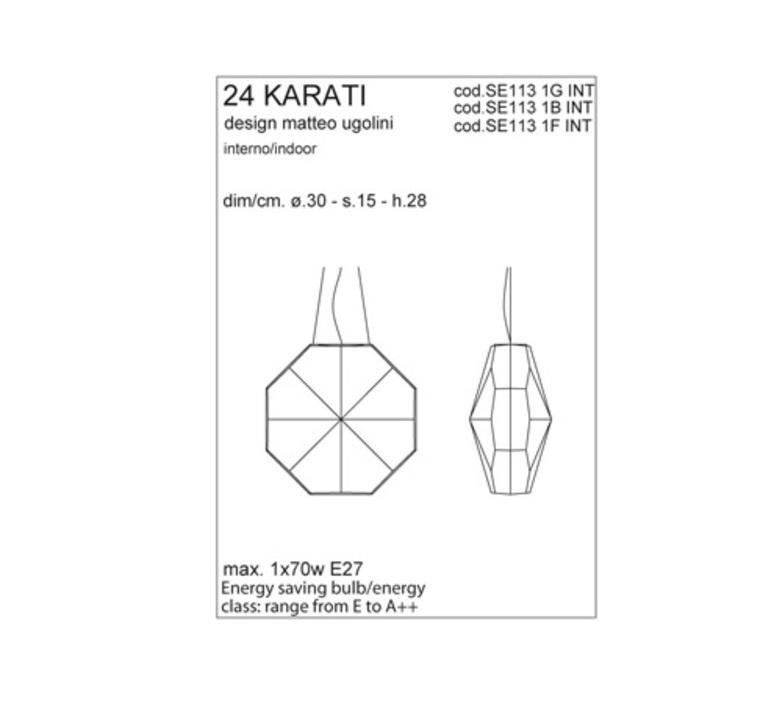 24 karati matteo ugolini karman se113 1g int luminaire lighting design signed 24253 product