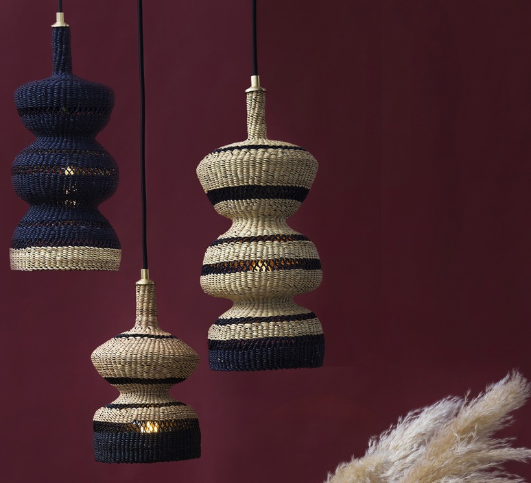 3 tier sara efia reddin suspension pendant light  golden editions 3tier midnight  design signed nedgis 71053 product