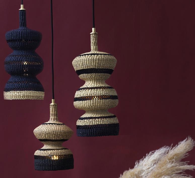 3 tier sara efia reddin suspension pendant light  golden editions 3tier natural  design signed nedgis 71058 product
