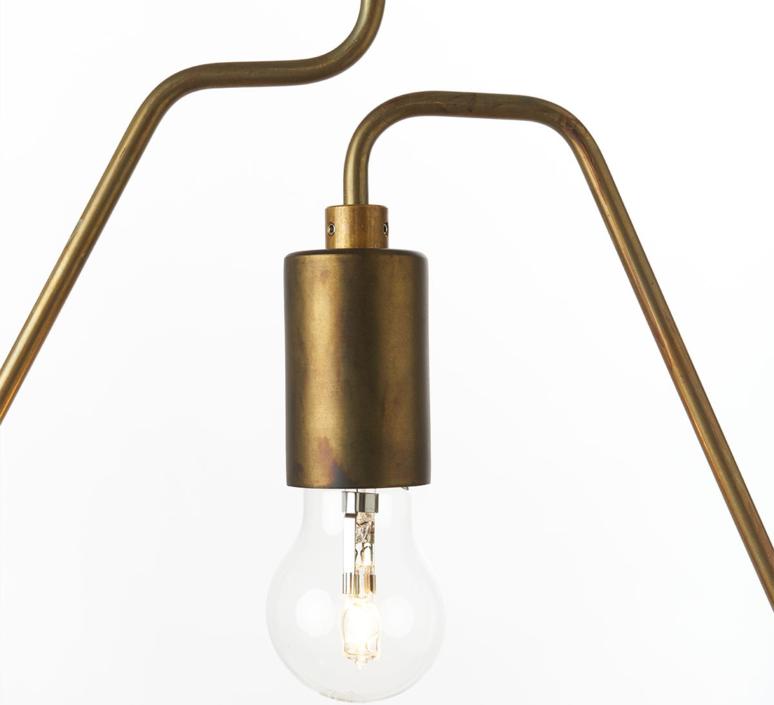 A shades douglas james suspension pendant light  zava a shades pendantlamp brass 130cm  design signed 36491 product