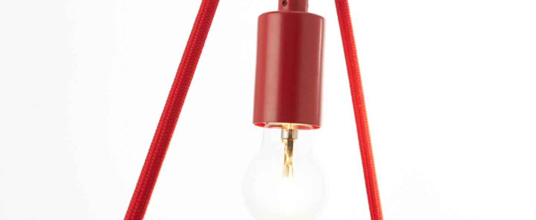 Suspension a shades rouge l36cm h130cm zava normal