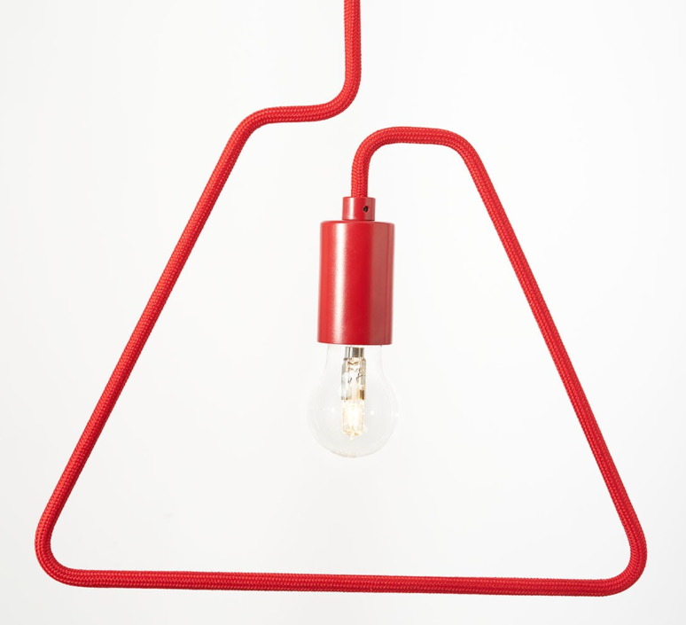 A shades douglas james suspension pendant light  zava a shades pendantlamp red ral3002 130cm  design signed 36488 product
