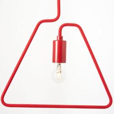 A shades douglas james suspension pendant light  zava a shades pendantlamp red ral3002 130cm  design signed 36488 thumb