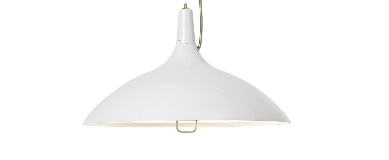 Suspension a1965 blanc laiton o46cm h26cm gubi normal