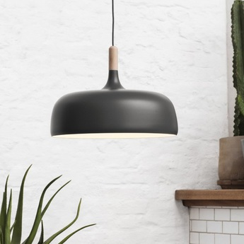 Suspension acorn gris o48cm northern lighting normal