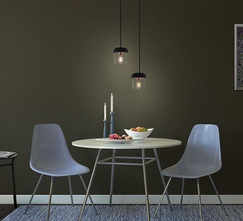 suspension acorn noir cuivre h16cm vita copenhagen luminaires nedgis. Black Bedroom Furniture Sets. Home Design Ideas