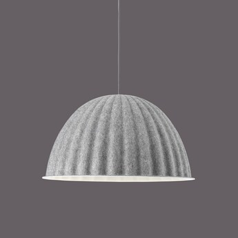 Suspension acoustique under the bell gris o55cm h31cm muuto normal