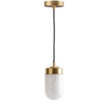 Suspension adore l or glass 009 blanc 0o10cm h14cm zangra normal
