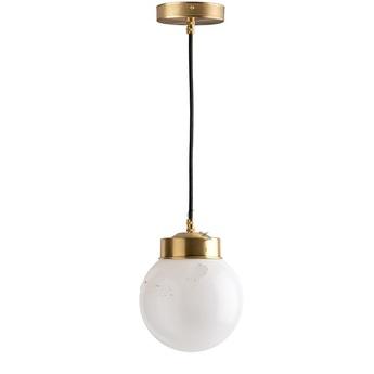 Suspension adore l or glass 013 blanc 0o16cm h16cm zangra normal