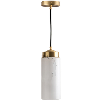 Suspension adore l or glass 022 blanc 0o11cm h22 5cm zangra normal