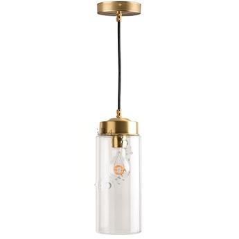 Suspension adore l or glass 024 blanc 0o11cm h22 5cm zangra normal