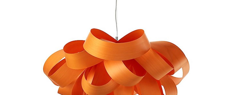 Suspension agatha orange o76cm lzf normal