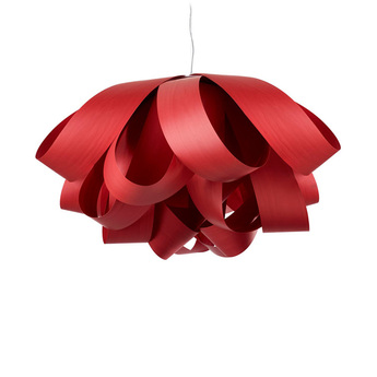 Suspension agatha rouge o140cm lzf normal