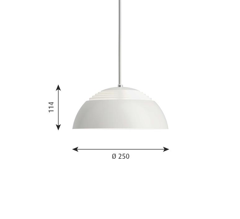 Aj royal arne jacobsen suspension pendant light  louis poulsen 5741104163  design signed nedgis 82056 product