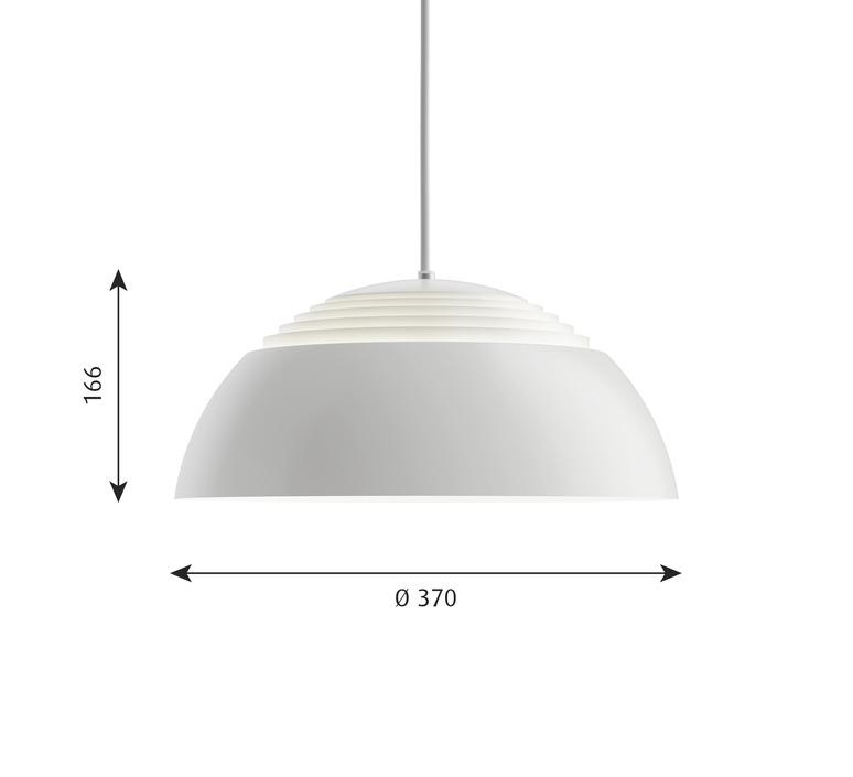 Aj royal arne jacobsen suspension pendant light  louis poulsen 5741103546  design signed nedgis 82036 product