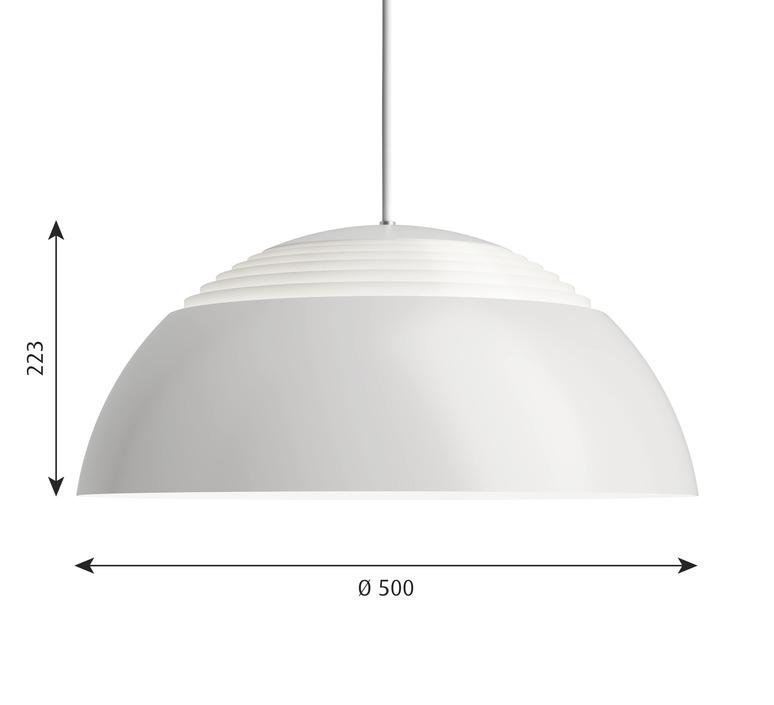 Aj royal arne jacobsen suspension pendant light  louis poulsen 5741103601  design signed nedgis 82044 product