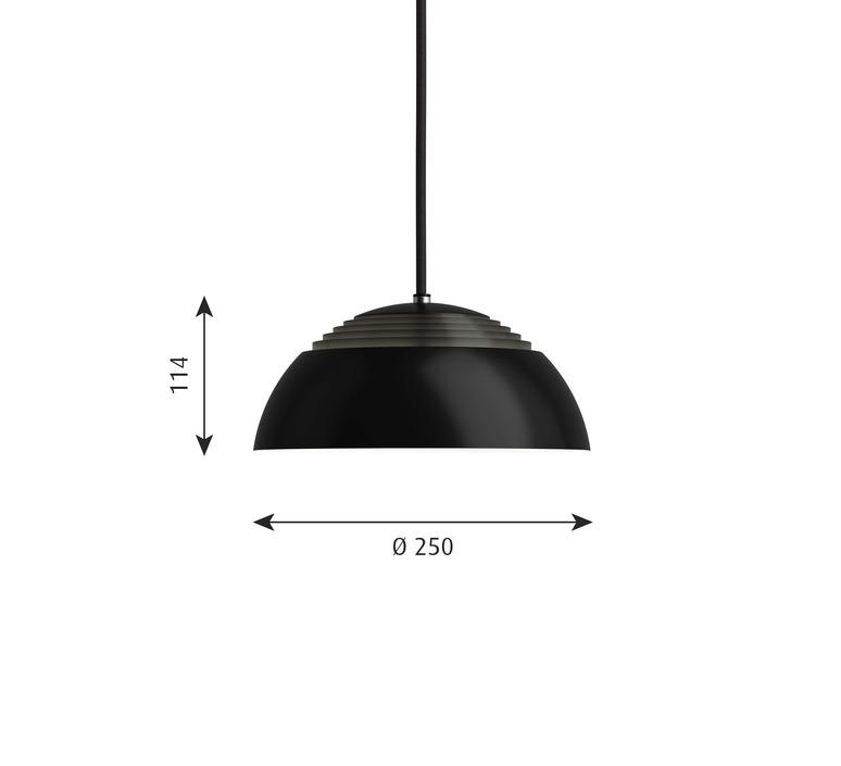 Aj royal arne jacobsen suspension pendant light  louis poulsen 5741104176  design signed nedgis 82061 product