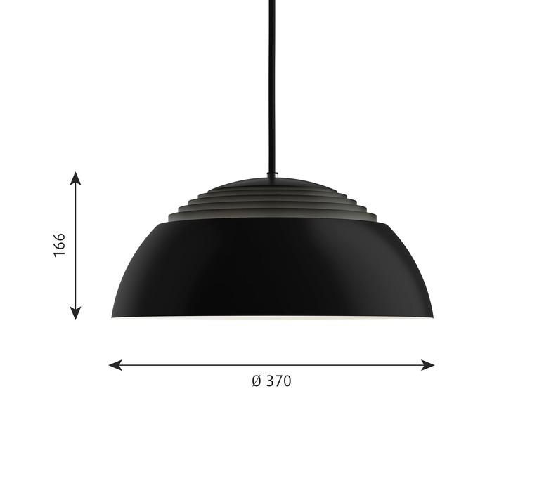 Aj royal arne jacobsen suspension pendant light  louis poulsen 5741103559  design signed nedgis 82040 product