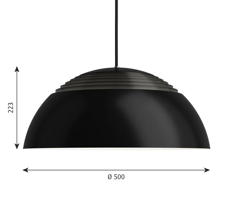 Aj royal arne jacobsen suspension pendant light  louis poulsen 5741103614  design signed nedgis 82051 product