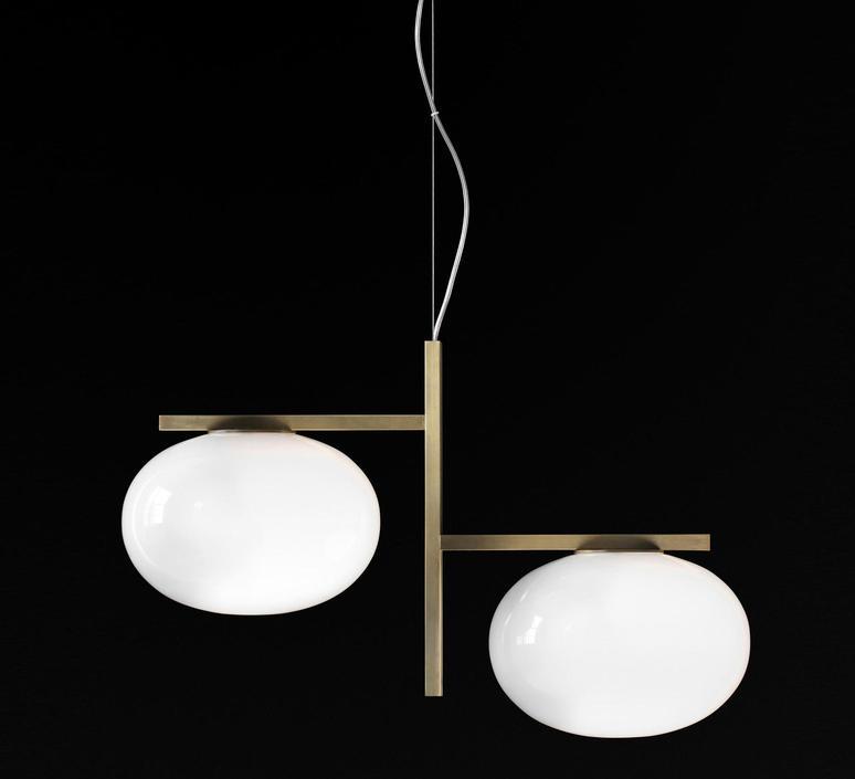 Alba 468 mariana pellegrino suspension pendant light  oluce alba468  design signed 40557 product
