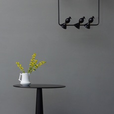 Alouette ceiling three birds gwendolyn et guillane kerschbaumer suspension pendant light  atelier areti  alouette ceiling 3 birds brass black  design signed 78422 thumb