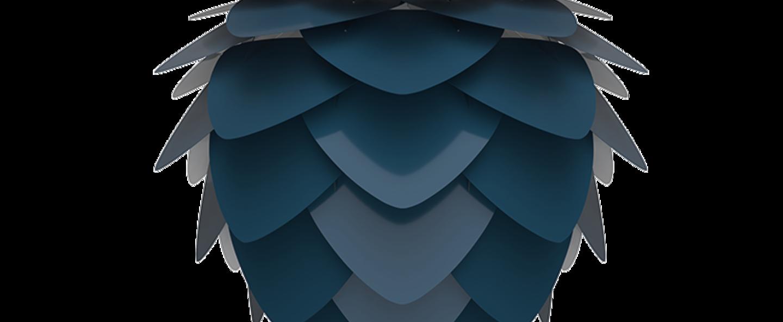 Suspension aluvia medium bleu o59cm h48cm umage normal