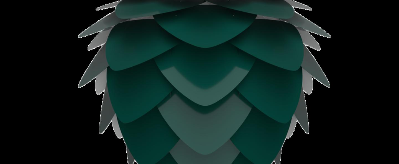 Suspension aluvia medium vert o59cm h48cm umage normal