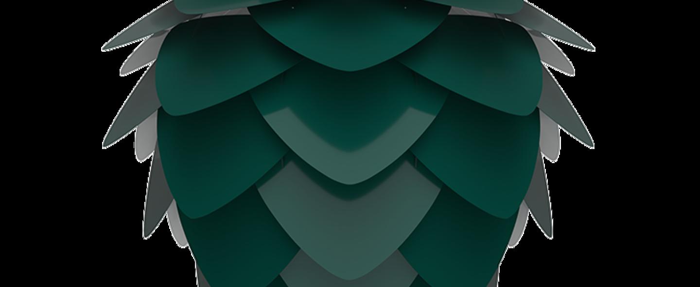 Suspension aluvia mini vert o40cm h30cm umage normal