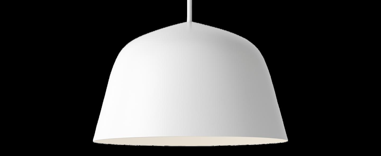 Suspension ambit 25 blanc o25cm h15cm muuto normal