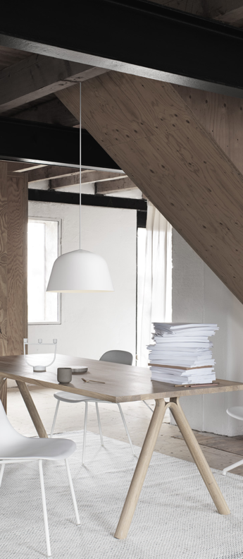 Suspension ambit 40 blanc o40cm h23 8cm muuto normal