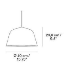 Ambit 40 taf architects suspension pendant light  muuto 15273  design signed 36151 thumb