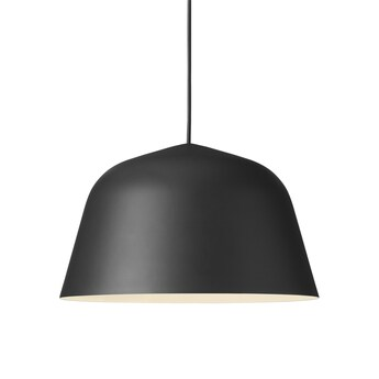Suspension ambit 40 noir o40cm h23 8cm muuto normal