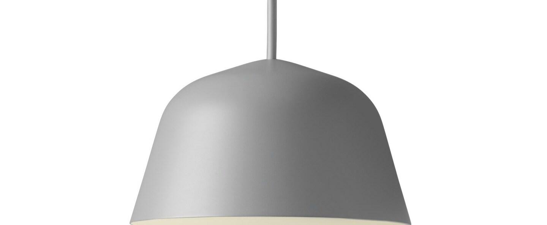 Suspension ambit mini gris o16 7cm h9 8cm muuto normal