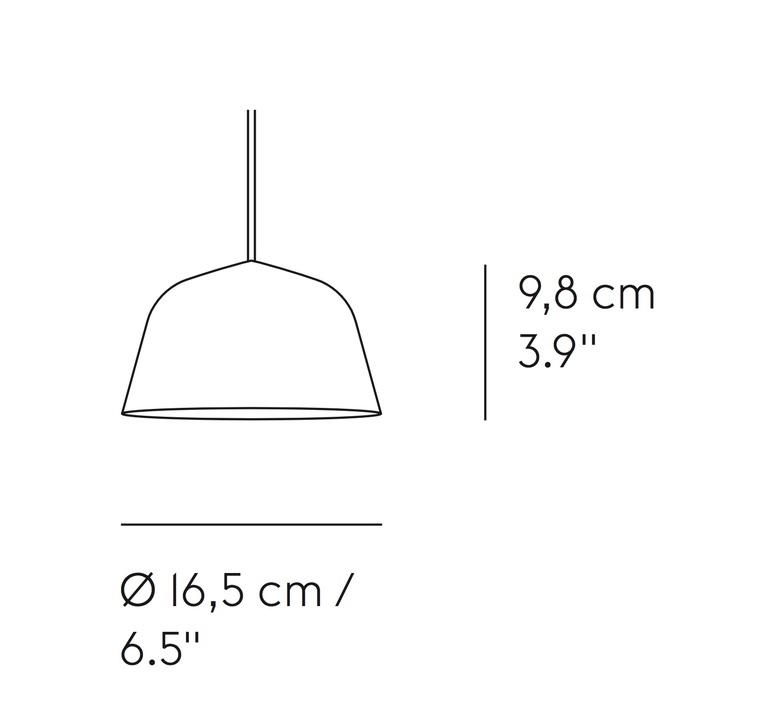 Ambit mini taf architects suspension pendant light  muuto 15354  design signed nedgis 85404 product