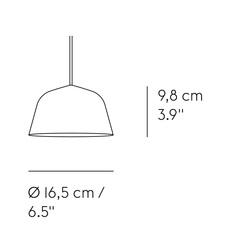 Ambit mini taf architects suspension pendant light  muuto 15354  design signed nedgis 85404 thumb